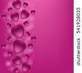 valentine's day vector... | Shutterstock .eps vector #541928035