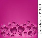 valentine's day vector... | Shutterstock .eps vector #541928041