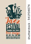 Poster For The Jazz Festival...