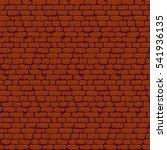 pixel art brick wall texture... | Shutterstock .eps vector #541936135