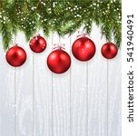 christmas background realistic... | Shutterstock .eps vector #541940491