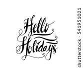 happy holidays.beautiful... | Shutterstock .eps vector #541951021