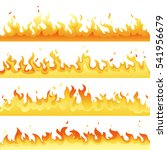 fire flame backdrop background... | Shutterstock .eps vector #541956679