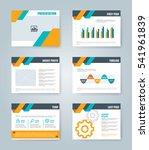 presentation template...   Shutterstock .eps vector #541961839