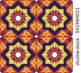 Spanish Tile Pattern Vector...