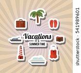 Vacations Icon Design