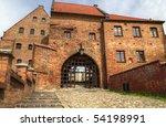 Grudziadz scenery in Poland - stock photo