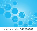 medical abstract science... | Shutterstock .eps vector #541996909