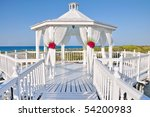 Romantic Wedding Gazebo Near...