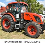 New Tractor At The Agricultura...
