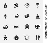 set of 16 editable  icons....