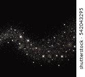 vector glitter particles... | Shutterstock .eps vector #542043295