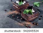 Two Chocolate Cakes With...