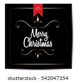 christmas vintage background | Shutterstock .eps vector #542047354