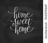 home sweet home handwritten