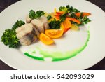 Boiled Seabass With Steamed...