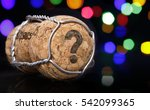 Champagne Cork With The Shape...