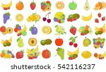 fruit set | Shutterstock .eps vector #542116237