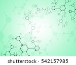 abstract background medical... | Shutterstock .eps vector #542157985