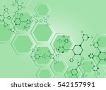 medical abstract science... | Shutterstock .eps vector #542157991