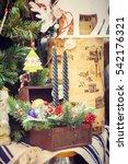 decoration flower shop   Shutterstock . vector #542176321