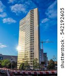 Small photo of BIRMINGHAM, UK - SEPTEMBER 25, 2015: Alpha Tower once the ATV Television Centre is the tallest office building in Birmingham (HDR)