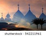 background blur landmark mosque