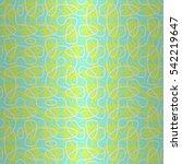 bright blue geometrical...   Shutterstock .eps vector #542219647