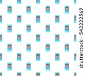 photo in mobile phone pattern.... | Shutterstock .eps vector #542222569