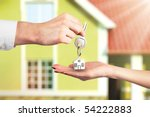 Handing Over The Key From A New ...