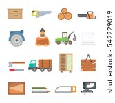 timber icons vector...