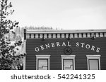 General Store In Snowy Pine...