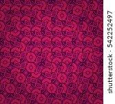 bright violet geometrical...   Shutterstock .eps vector #542252497