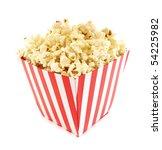 popcorn cardboard box for cinema | Shutterstock . vector #54225982