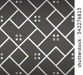 deep gray geometrical seamless... | Shutterstock .eps vector #542276815