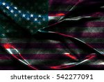 usa flag background | Shutterstock . vector #542277091