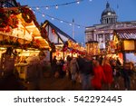 nottingham  england   december...   Shutterstock . vector #542292445