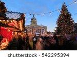 nottingham  england   december...   Shutterstock . vector #542295394