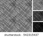 seamless pattern of hand drawn... | Shutterstock .eps vector #542315437