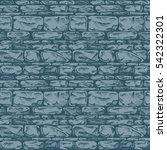 coursed ashlar. seamless...   Shutterstock .eps vector #542322301