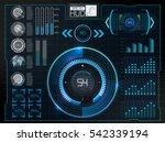 futuristic user interface.hud...