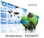 business concept | Shutterstock .eps vector #54236347