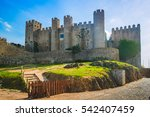 Castle Of Obidos In The...