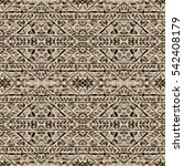 ethnic design. striped... | Shutterstock . vector #542408179