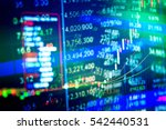 financial market is market in... | Shutterstock . vector #542440531