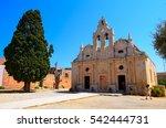arkadi monastery on crete... | Shutterstock . vector #542444731