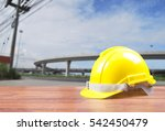 safety helmet with construction ... | Shutterstock . vector #542450479