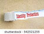envelope with red text.... | Shutterstock . vector #542521255