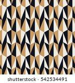 seamless retro pattern | Shutterstock .eps vector #542534491