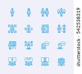people icons | Shutterstock .eps vector #542538319
